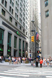 Financial District, New York Royalty Free Stock Image
