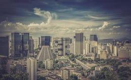 Financial district of Rio de Janeiro Royalty Free Stock Photo