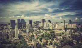 Financial district of Rio de Janeiro Stock Photography