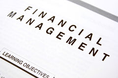 Financial document Royalty Free Stock Images