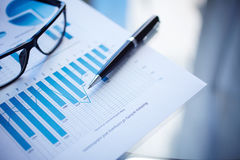Financial document Stock Photography