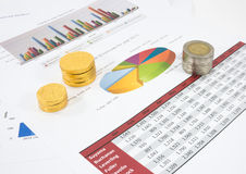 Financial document Royalty Free Stock Image