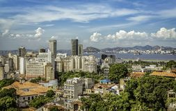 Financial Downtown of Rio de Janeiro Royalty Free Stock Photos