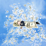 Financial Dreams About Money Royalty Free Stock Images