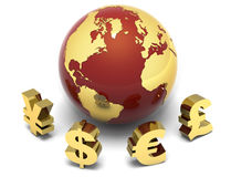 Financial Earth Stock Images