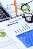 Financial and economic news update Royalty Free Stock Photos
