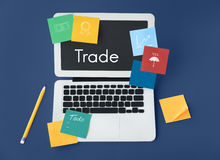 Financial Economy Trade Accounting Monetary Concept Stock Photo
