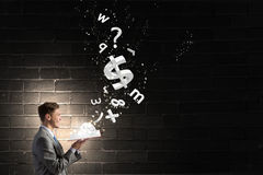 Financial education Royalty Free Stock Image