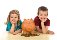 Financial education concept Stock Photography