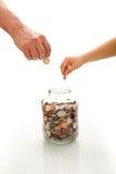 Financial education concept Stock Photos
