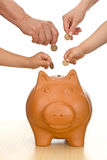 Financial education and discipline concept stock photography