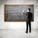 Financial equation Stock Photos