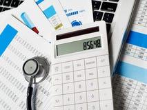 Financial exam Stock Photos