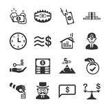 Financial 2. Flat Design Illustration: Financial 2 Royalty Free Stock Images
