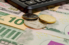 Financial forecast. Financial success by following a successful financial strategy Stock Images