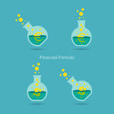 Financial Formula Stock Photos