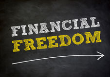 Financial freedom Royalty Free Stock Images