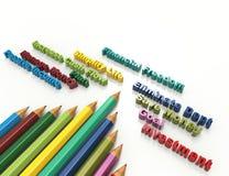 Financial freedom. 3d concept design Stock Photos