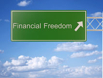 Financial freedom Stock Photography