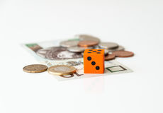 Financial gamble Royalty Free Stock Image