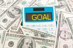 Financial goal concept Royalty Free Stock Image