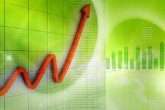 Free Financial Graph Royalty Free Stock Photos - 20298598