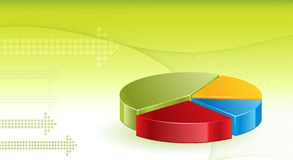 Financial Graphs background. 3d shine Financial Graphs background Stock Photography