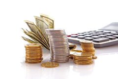 Financial growth Stock Image