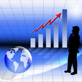 Financial growth Stock Photography