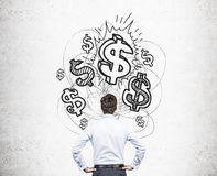 Financial growth concept Stock Photography