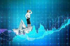 Financial growth concept Royalty Free Stock Photography