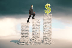 Financial growth concept Stock Images