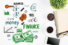 Financial growth concept Royalty Free Stock Photos