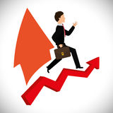 Financial Growth design Stock Photo