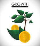 Financial Growth design Royalty Free Stock Photo