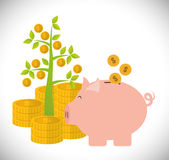 Financial Growth design Stock Photo