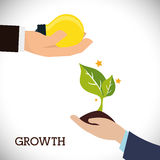 Financial Growth design Stock Photography