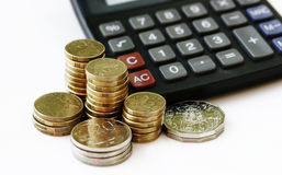 Financial growth and savings Royalty Free Stock Image