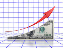 Financial growth Royalty Free Stock Photography