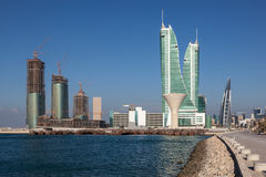 Financial Harbour in Manama, Bahrain Stock Images