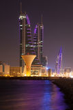 Financial Harbour in Manama, Bahrain Royalty Free Stock Photography