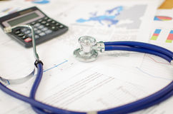 Financial health Stock Images
