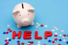 Financial Help Royalty Free Stock Image