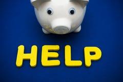 Financial Help Royalty Free Stock Photos