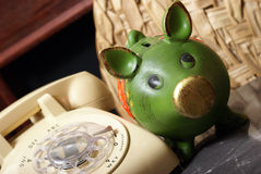 Financial Hotline Stock Images