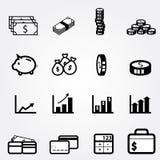 Financial icon Stock Photo