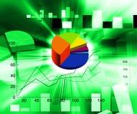 Financial illustration Stock Photo