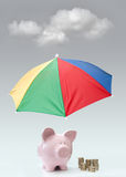 Financial insurance Stock Photo