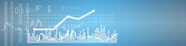 Business stock market background Stock Photos