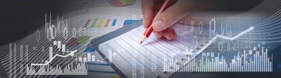 Writing man hand Stock Photos